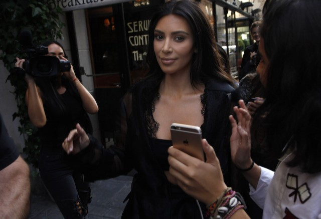 Kim Kardashian Sighting In Paris - September 28, 2016