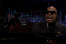 michelle obama stevie wonder fallon tonight show video