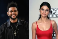 The Weeknd and Selena Gomez Would Like to Inform You That They Are Kissing