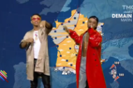 Oui, It's Rae Sremmurd Delivering the Weather Report in France