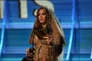 Watch Beyoncé Accept Grammy for Urban Contemporary Category With Political Speech
