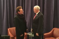 Why is Bono Meeting With Mike Pence?
