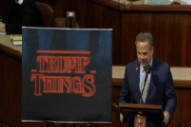 Sure, Why Not: Congressman Compares Trump to <i>Stranger Things</i> in Extended Analogy on House Floor