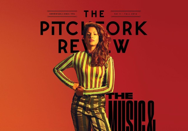 sources: the pitchfork review, pitchfork's print quarterly, is