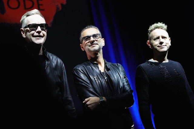 Depeche Mode Press Event In Milan
