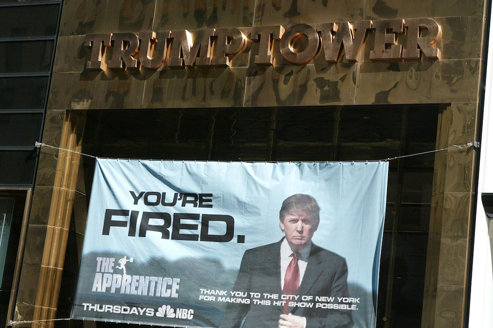 Exterior Of Trump Towers