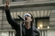 U2 Films Music Video In New York City