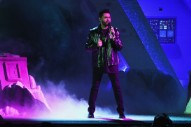 """Grammys 2017: Watch The Weeknd and Daft Punk Perform """"I Feel It Coming"""""""