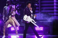 "Grammys 2017: Watch Bruno Mars Perform ""Let's Go Crazy"" in Tribute to Prince"