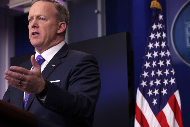 Press Secretary Sean Spicer Holds Daily Press Briefing At The White House