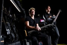 Nickelback Portrait And Equipment Shoot