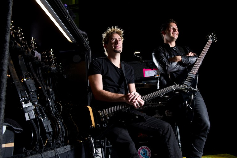 Nickelback Portrait And Equipment Shoot