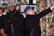 Watch Run the Jewels Get Loose in NPR Tiny Desk Concert Performance