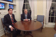 Breitbart's Facebook Live Interview With Sean Spicer Is the Bleakest Video You've Ever Seen