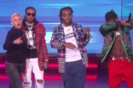 "Watch Migos Perform ""Bad and Boujee"" on <em>Ellen</em>"