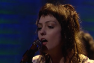 "Watch Angel Olsen Perform ""Give It Up"" on <em>Conan</em>"