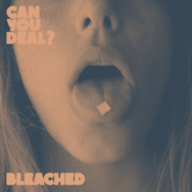 bleached can you deal album art