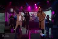 Watch Fat Joe, Remy Ma, and Ty Dolla $ign Bring &#8220;Money Showers&#8221; to <i>Kimmel</i>