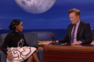 Watch Janelle Monáe Have a Very Jovial Conversation on <i>Conan</i>