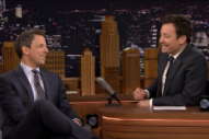 Jimmy Fallon Finally Kinda Addresses Rubbing Donald Trump on the Head