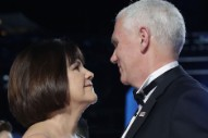 Mike Pence Bought Valentine's Day Flowers for Mother
