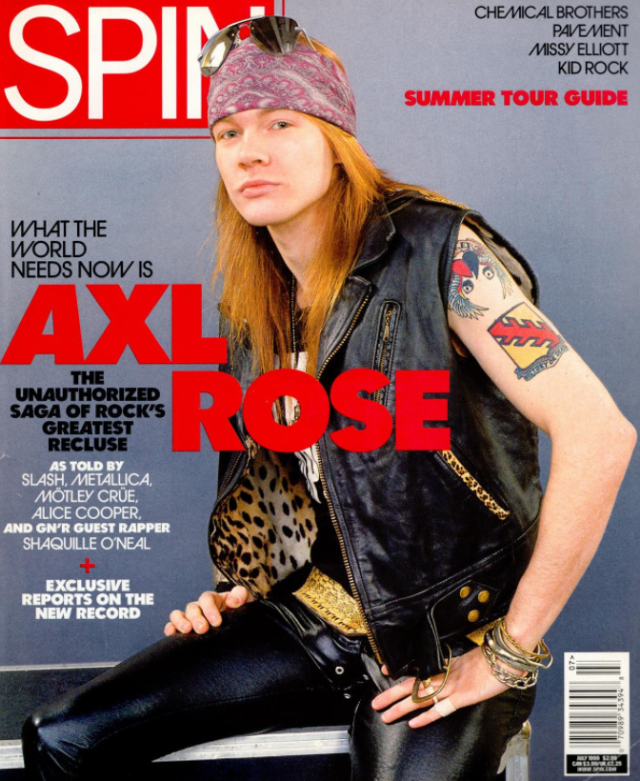What if Axl had left the scene in 2001 until the reunion