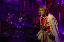 ty segall break a guitar seth meyers video