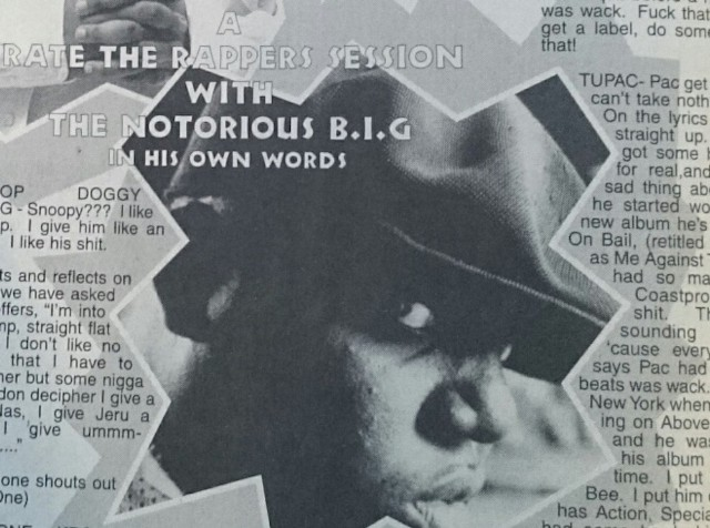 Here Are Magazine Scans Of That Infamous Notorious Big Interview