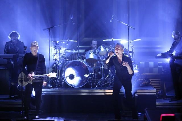 Depeche Mode on the Tonight Show 03/02/2017