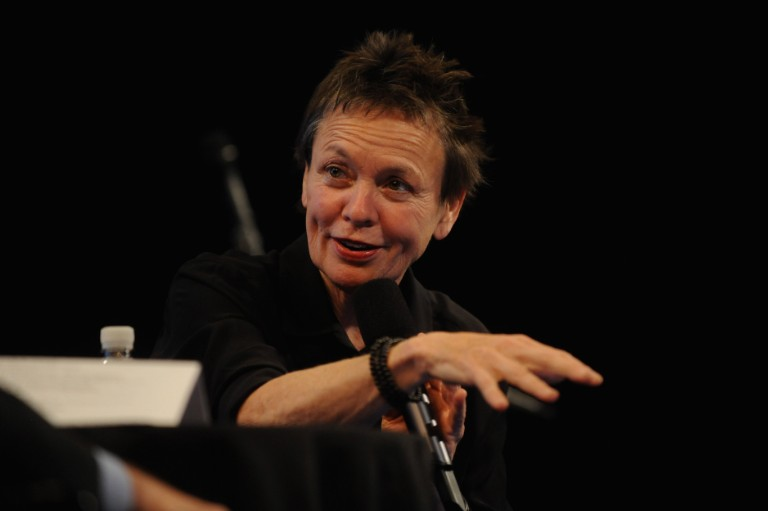 The New Yorker Festival 2014 -Laurie Anderson In Conversation With Alex Ross
