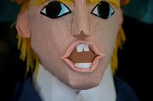 Donald Trump Pinatas On Sale In San Francisco