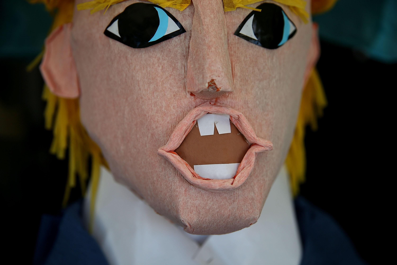 Donald Trump Pinatas On Sale In San Francisco
