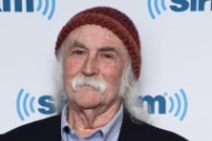 Once Again, David Crosby Has Dragged The Lizard King