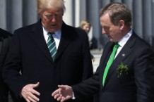 Trump, Paul Ryan Attend Traditional Congressional Luncheon For Irish PM