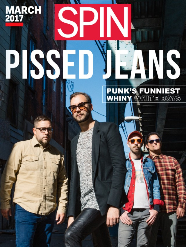 Pissed Jeans SPIN Cover March 2017