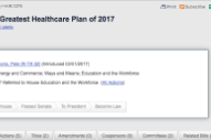 "The GOP's Obamacare Replacement Is Not Actually Called the ""World's Greatest Healthcare Plan of 2017″"