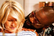 Martha Stewart Plays Rick Ross' Publicist For a Day