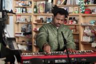 Watch Sampha's Intimate NPR Tiny Desk Concert