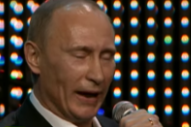 "Where Was Donald Trump When Vladimir Putin Sang ""Blueberry Hill"" to Kevin Costner and Sharon Stone?"