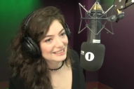 "Watch Lorde's Charming Parody of ""Green Light"" As a Song About Creme Eggs"