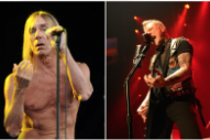 "Watch Metallica and Iggy Pop Play The Stooges' ""T.V. Eye"" in Mexico City"