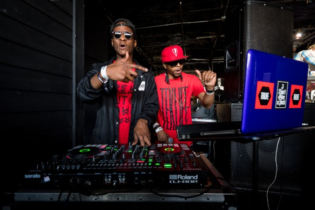 TEKLIFE's DJ Spinn and DJ Taye