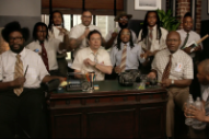 Migos Perform &#8220;Bad and Boujee&#8221; With Office Supplies on <i>Fallon</i>