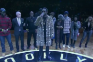 Watch Diddy and the Brooklyn Nets Honor the Notorious B.I.G. on Biggie Night
