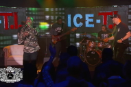 "Watch T.I. and Ice-T Perform &#8220;O.G. Original Gangster&#8221; and &#8220;Bring Em Out"" as ICE-T.I. on <i>Kimmel</i>"