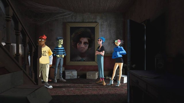 Damon Albarn Says He Is Working on 40 More Gorillaz Songs   SPIN