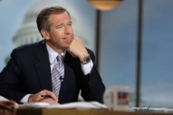 Brian Williams Praises Syrian Air Strikes by Quoting Leonard Cohen
