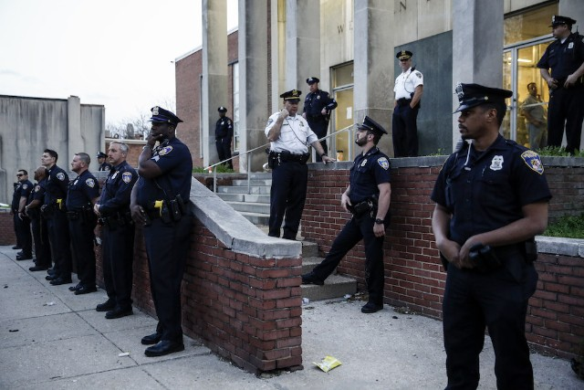 Justice Department cites Baltimore police reform 'concerns'