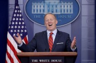 Sean Spicer Says the Holocaust Wasn't the Worst