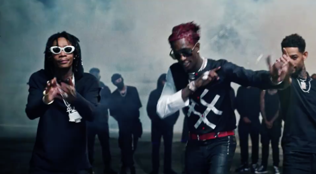 Video Young Thug 2 Chainz Wiz Khalifa Pnb Rock Gang Up From
